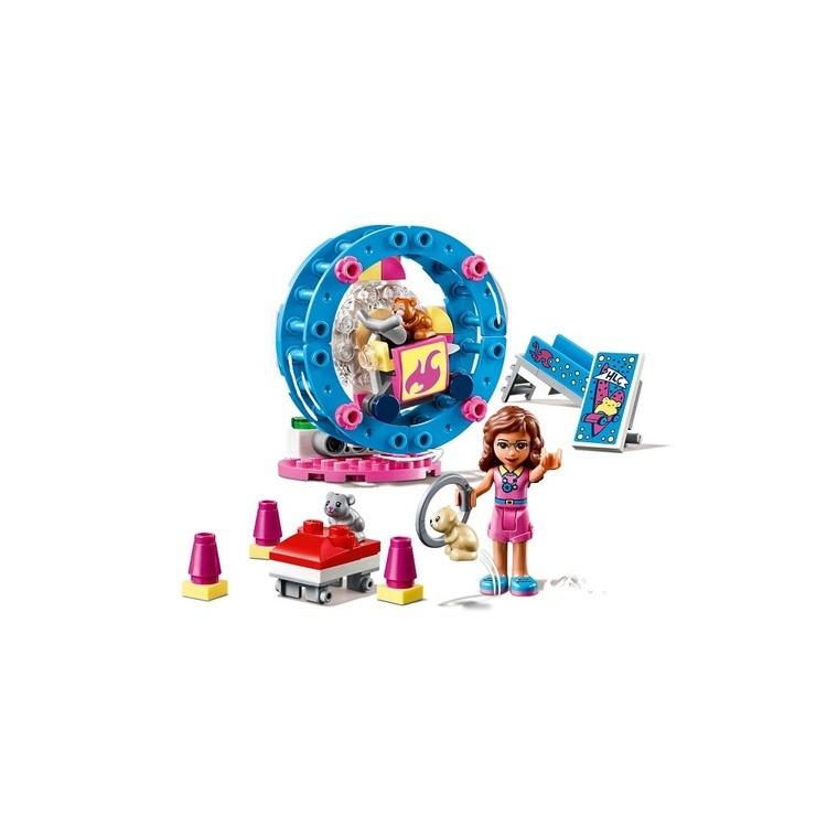 competitive LEGO Friends Olivia's Hamster Playground 41383 reasonable cheap