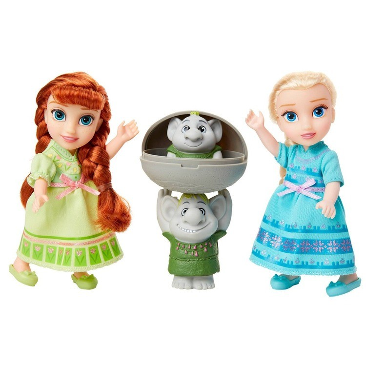 cheap Disney Frozen 2 Petite Surprise Trolls Gift Set competitive reasonable