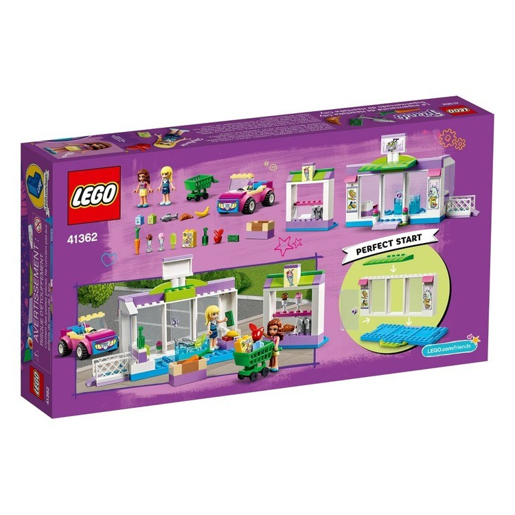 competitive LEGO Friends Heartlake City Supermarket 41362 Building Set, Mini Dolls, Supermarket Playset 140pc reasonable cheap