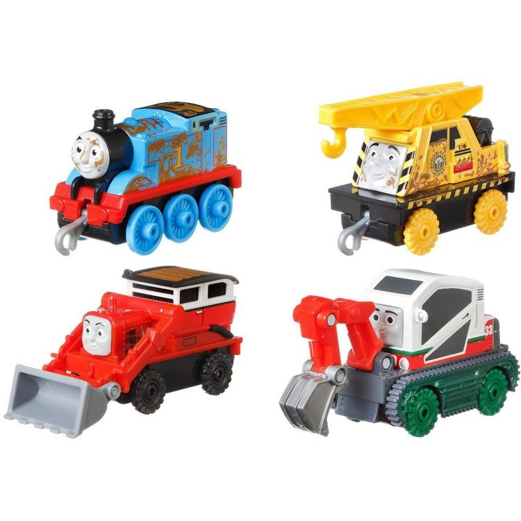 reasonable Fisher-Price Thomas & Friends Fall Themed Push Along 4pk competitive cheap