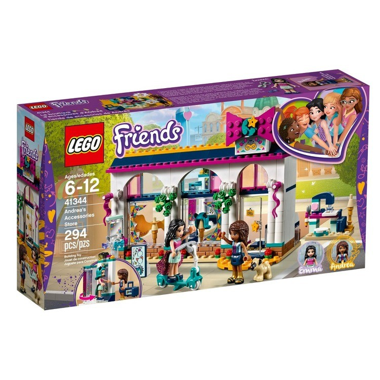 reasonable LEGO Friends Andrea's Accessories Store 41344 competitive cheap