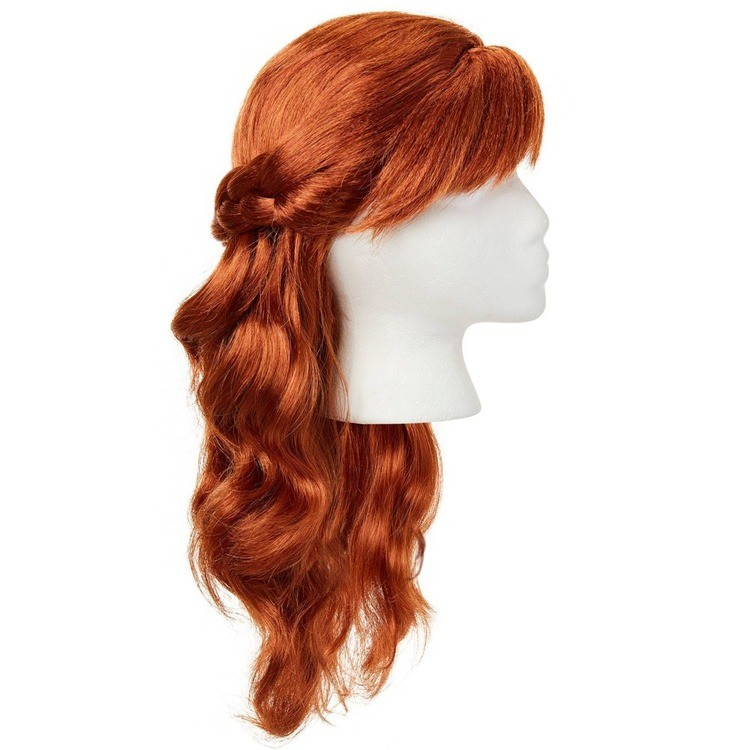 reasonable Disney Frozen 2 Anna Wig, Red competitive cheap