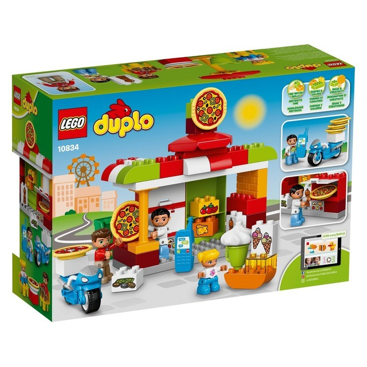 reasonable LEGO DUPLO Town Pizzeria 10834 competitive cheap