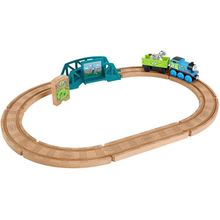 cheap Fisher-Price Thomas & Friends Wood Animal Park Set competitive reasonable