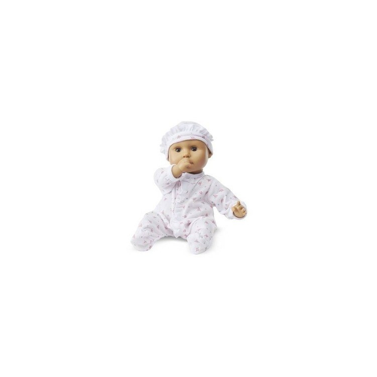 cheap Melissa & Doug Mine to Love Mariana 12-Inch Poseable Baby Doll With Romper and Hat reasonable competitive