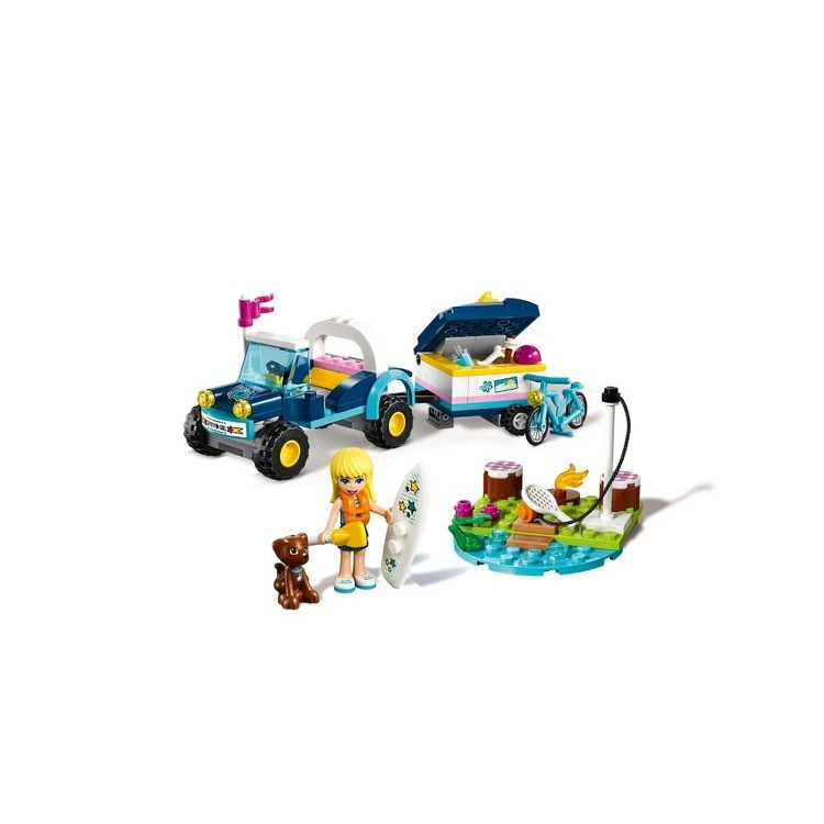 cheap LEGO Friends Stephanie's Buggy & Trailer 41364 competitive reasonable