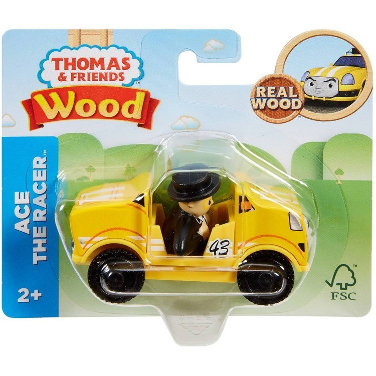 cheap Fisher-Price Thomas & Friends Wood Ace the Racer competitive reasonable