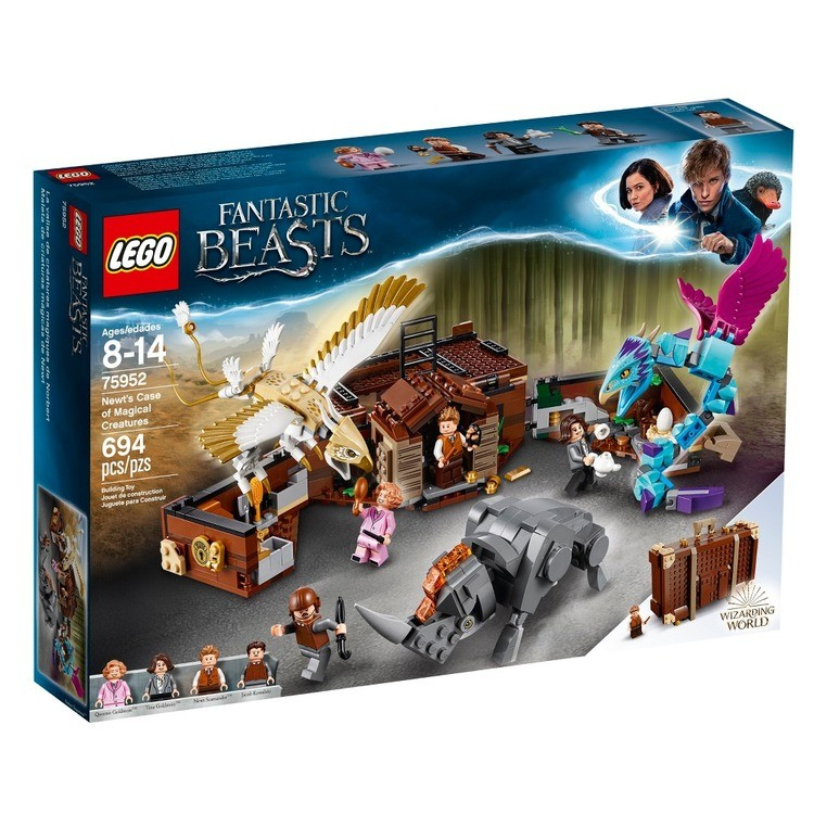 reasonable LEGO Harry Potter Fantastic Beasts Newt's Case of Magical Creatures 75952 cheap competitive