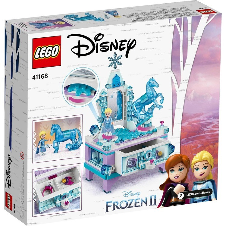 reasonable LEGO Disney Princess Frozen 2 Elsa's Jewelry Box Creation 41168 Disney Jewelry Box Building Kit 300pc competitive cheap