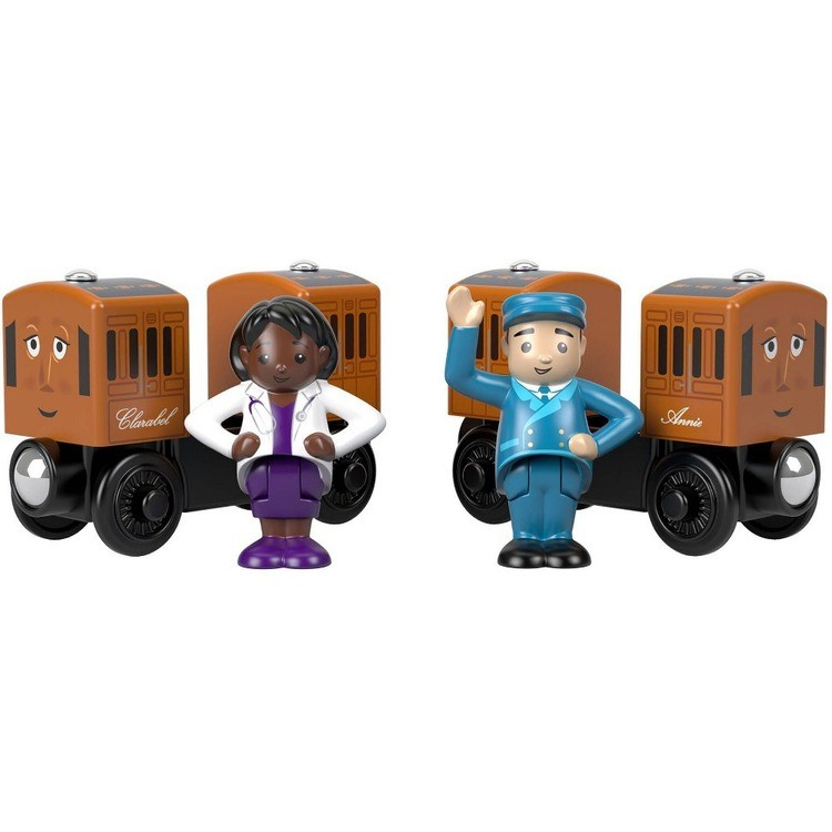 competitive Fisher-Price Thomas & Friends Wood Annie & Clarabel cheap reasonable