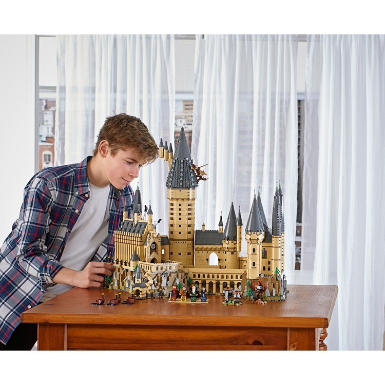 cheap LEGO Harry Potter Hogwarts Castle Advanced Building Set Model with Harry Potter Minifigures 71043 reasonable competitive