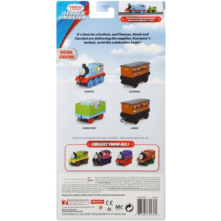 cheap Fisher-Price Thomas & Friends Celebration Time Push Along 4pk competitive reasonable