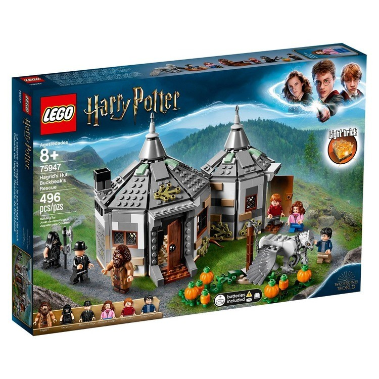 reasonable LEGO Harry Potter Hagrid's Hut: Buckbeak's Rescue Building Set with Hippogriff Figure 75947 competitive cheap