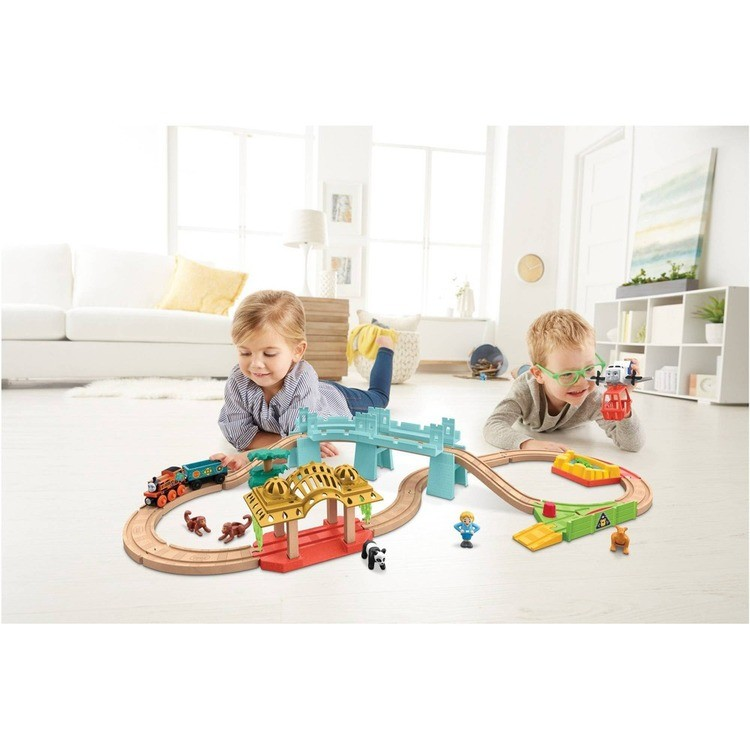 competitive Fisher-Price Thomas & Friends Wood Big World Adventure Set reasonable cheap