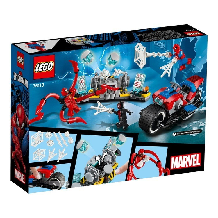 cheap LEGO Super Heroes Marvel Spider-Man Bike Rescue 76113 reasonable competitive
