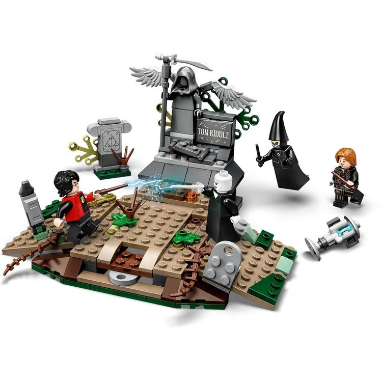 cheap LEGO Harry Potter The Rise of Voldemort 75965 Wizard Minifigure Battle Action Building Set 184pc competitive reasonable