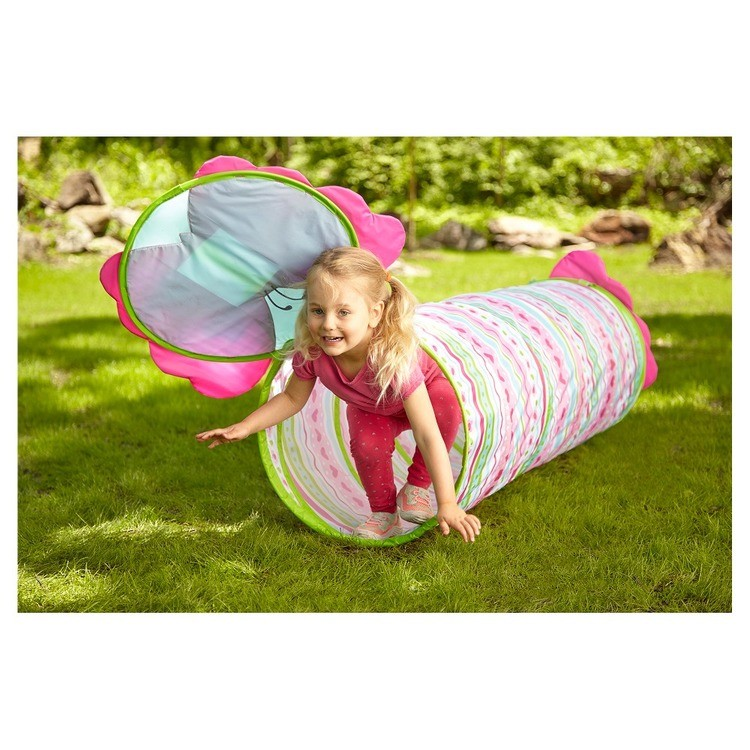 reasonable Melissa & Doug Sunny Patch Cutie Pie Butterfly Crawl-Through Tunnel (almost 5 feet long) competitive cheap