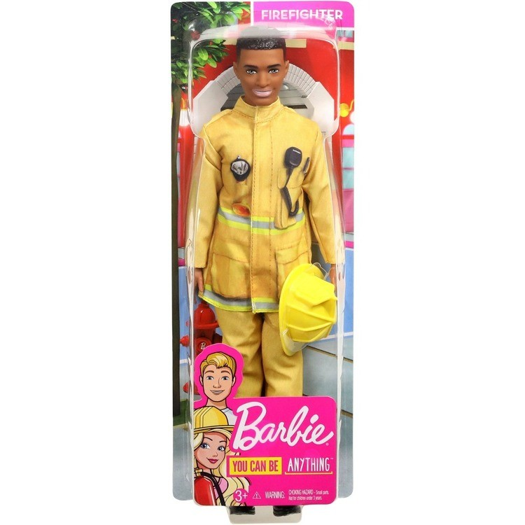 reasonable Barbie Ken Career Firefighter Doll competitive cheap