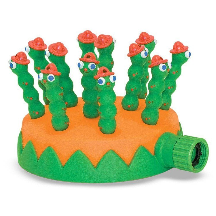 reasonable Melissa & Doug Sunny Patch Grub Scouts Sprinkler Toy With Hose Attachment, Kids Unisex competitive cheap
