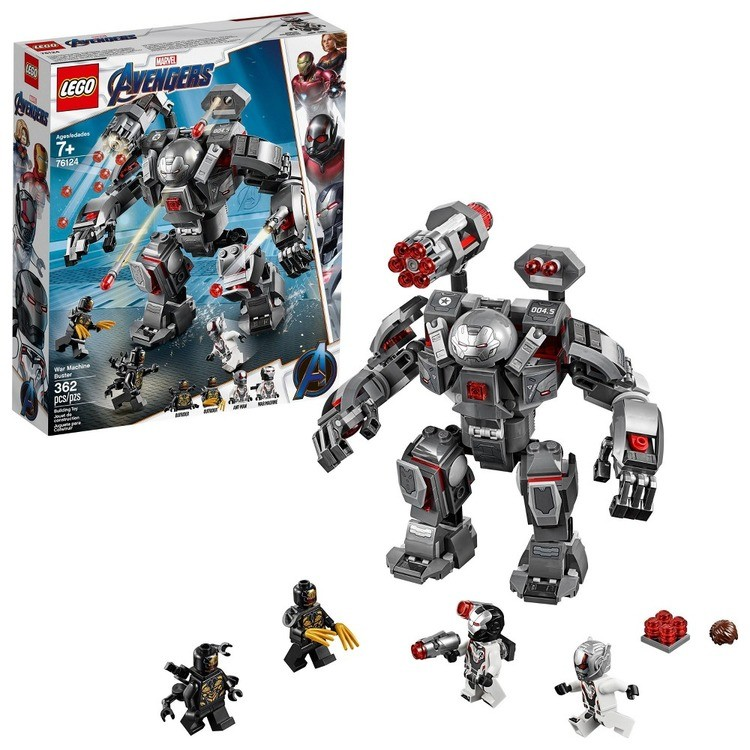 reasonable LEGO Marvel Avengers War Machine Buster 76124 cheap competitive