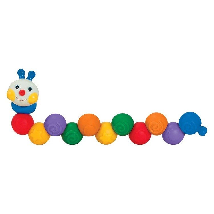 competitive Melissa & Doug K's Kids Build an Inchworm Snap-Together Soft Block Set for Baby - Linkable, Twistable, Stackable, Squeezable cheap reasonable