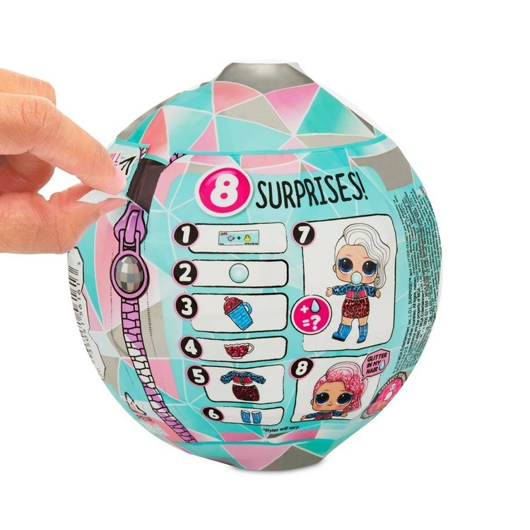 reasonable L.O.L. Surprise! Glitter Globe Doll Winter Disco Series with Glitter Hair competitive cheap