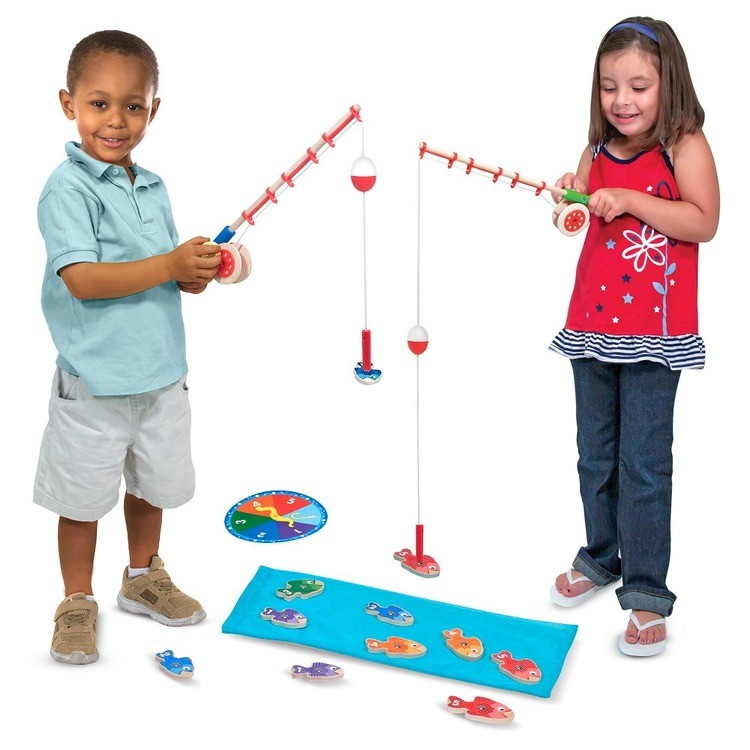 cheap Melissa & Doug Catch & Count Fishing Game competitive reasonable