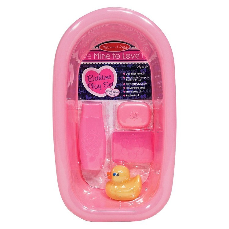 competitive Melissa & Doug Mine to Love Baby Doll Bathtub and Accessories Set (6pc) cheap reasonable