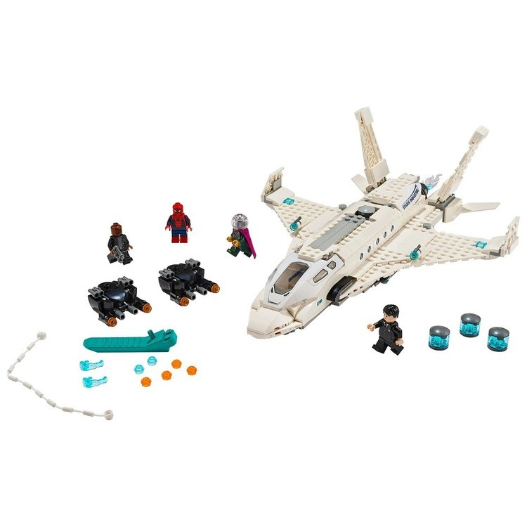 reasonable LEGO Super Heroes Marvel Spider-Man Stark Jet and the Drone Attack 76130 competitive cheap