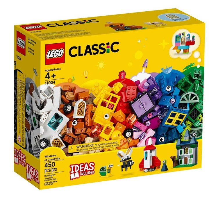 reasonable LEGO Classic Windows of Creativity 11004 Building Kit with Toy Doors for Creative Play 450pc competitive cheap