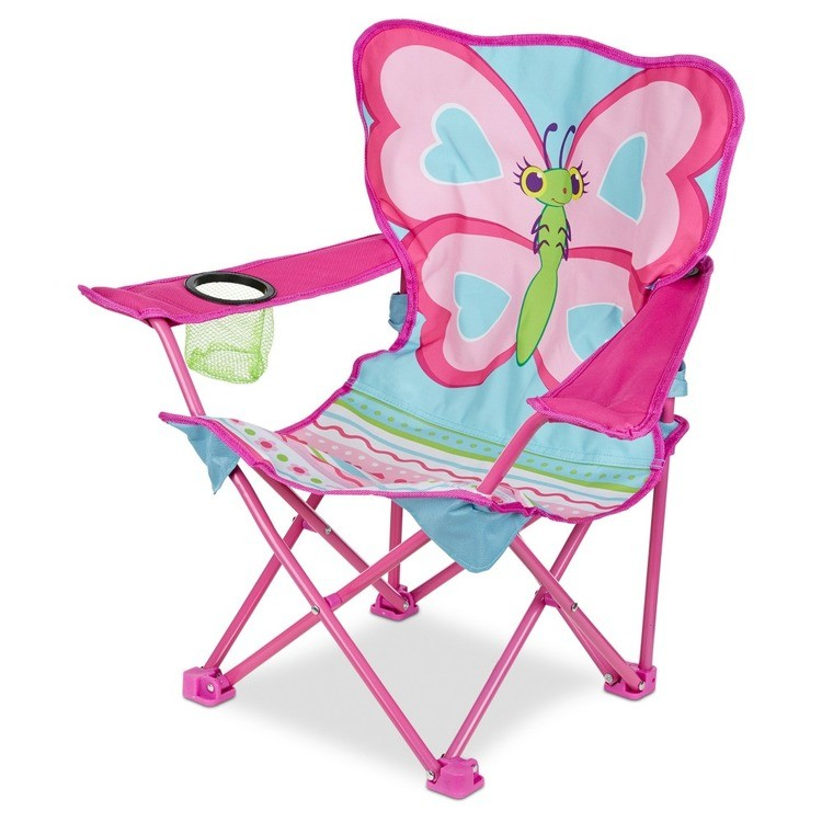 competitive Melissa & Doug Sunny Patch Cutie Pie Butterfly Folding Lawn and Camping Chair cheap reasonable