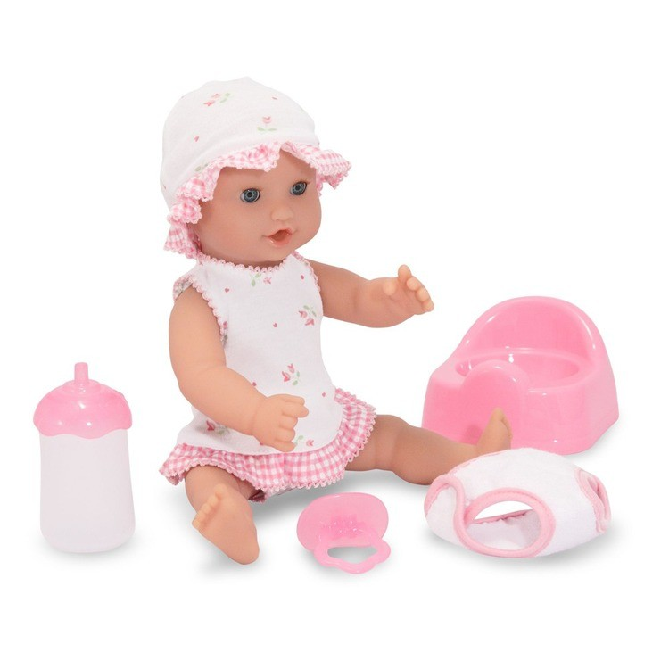 "cheap Melissa & Doug Mine to Love Annie 12"" Drink and Wet Baby Doll reasonable competitive"