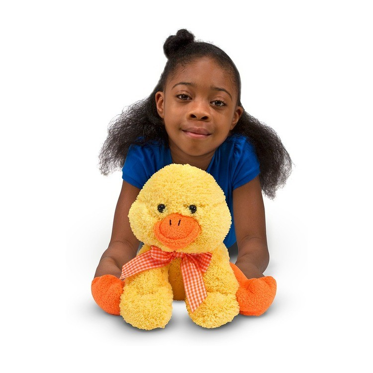 cheap Melissa & Doug Meadow Medley Ducky Stuffed Animal With Quacking Sound Effect reasonable competitive