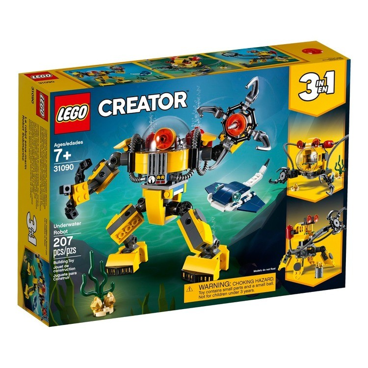 cheap LEGO Creator Underwater Robot 31090 reasonable competitive