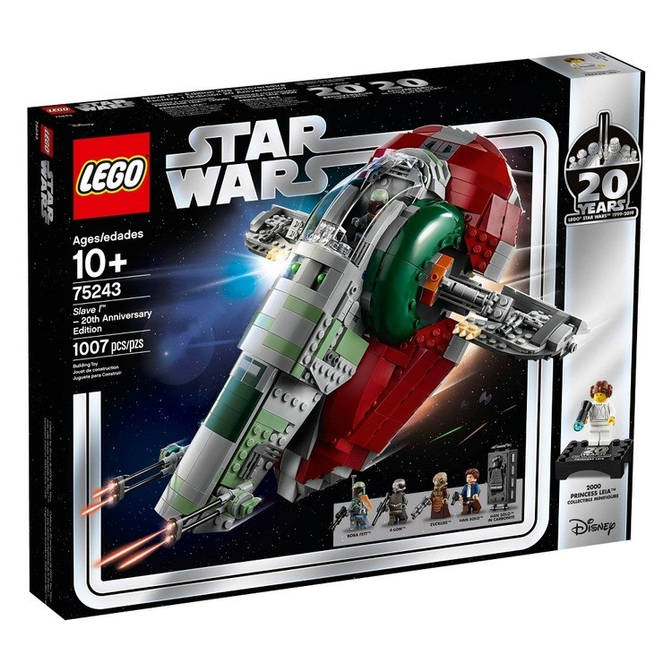 cheap LEGO Star Wars Slave l – 20th Anniversary Collector Edition Collectible Model 75243 Building Kit competitive reasonable