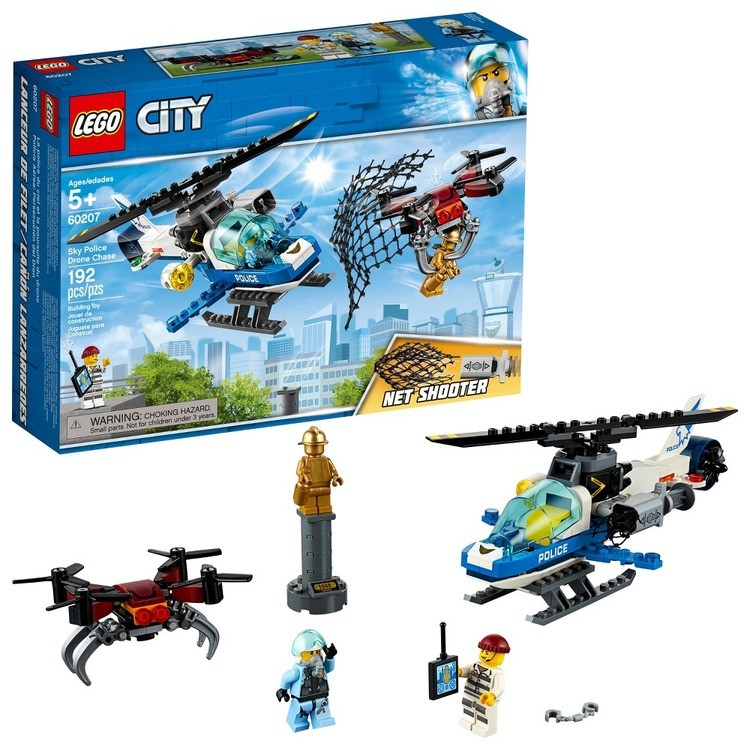 cheap LEGO City Sky Police Drone Chase 60207 reasonable competitive