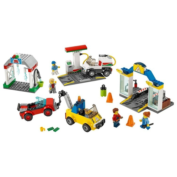cheap LEGO City Garage Center 60232 Building Kit for Kids 4+ with Toy Vehicle 234pc reasonable competitive