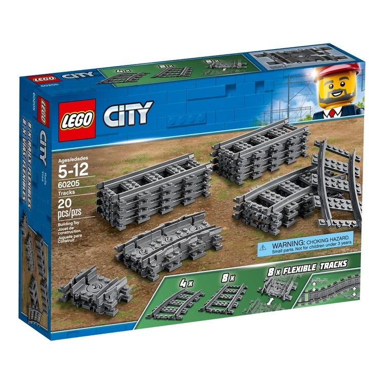 competitive LEGO City Trains Tracks 60205 reasonable cheap