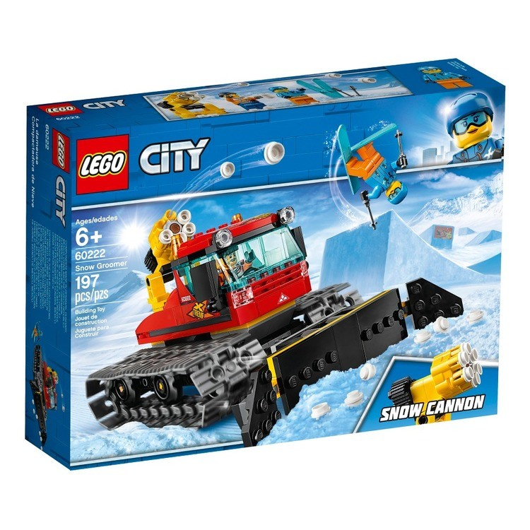 cheap LEGO City Great Vehicles Snow Groomer 60222 reasonable competitive