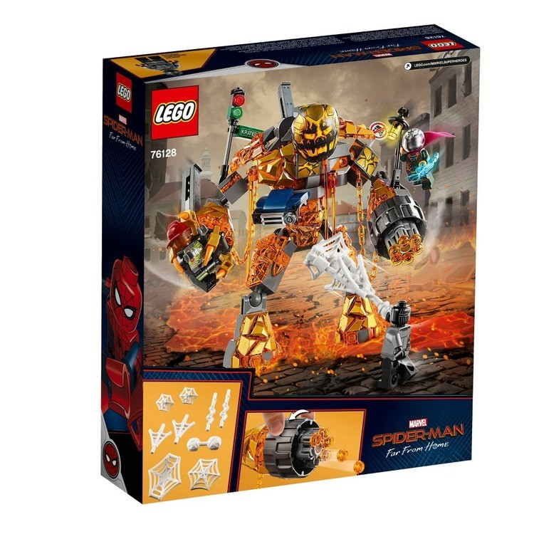 reasonable LEGO Super Heroes Marvel Spider-Man Molten Man Battle 76128 competitive cheap