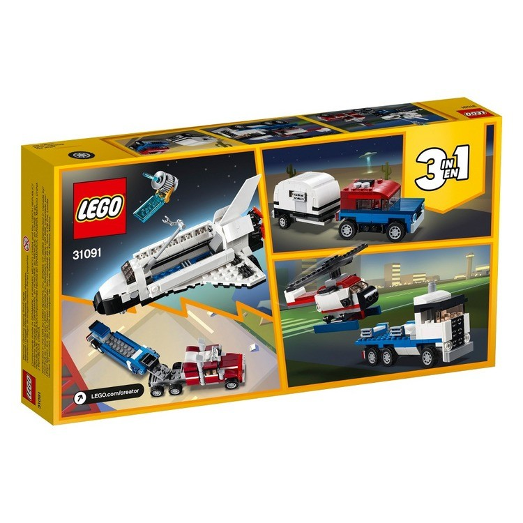 competitive LEGO Creator Shuttle Transporter 31091 reasonable cheap