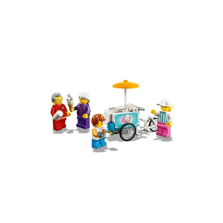 competitive LEGO City People Pack - Fun Fair 60234 Toy Fair Building Set with Ice Cream Cart 183pc reasonable cheap
