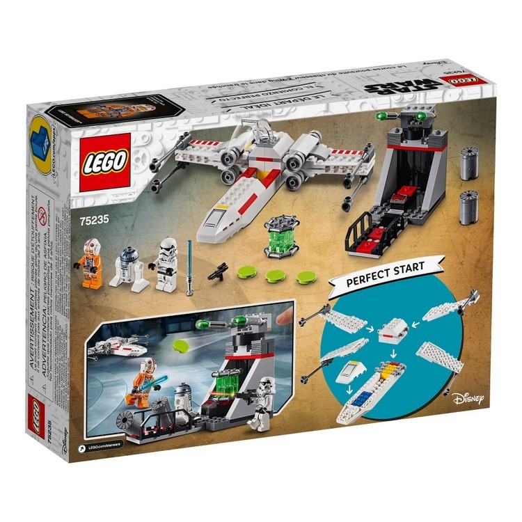 reasonable LEGO Star Wars X-Wing Starfighter Trench Run 75235 competitive cheap