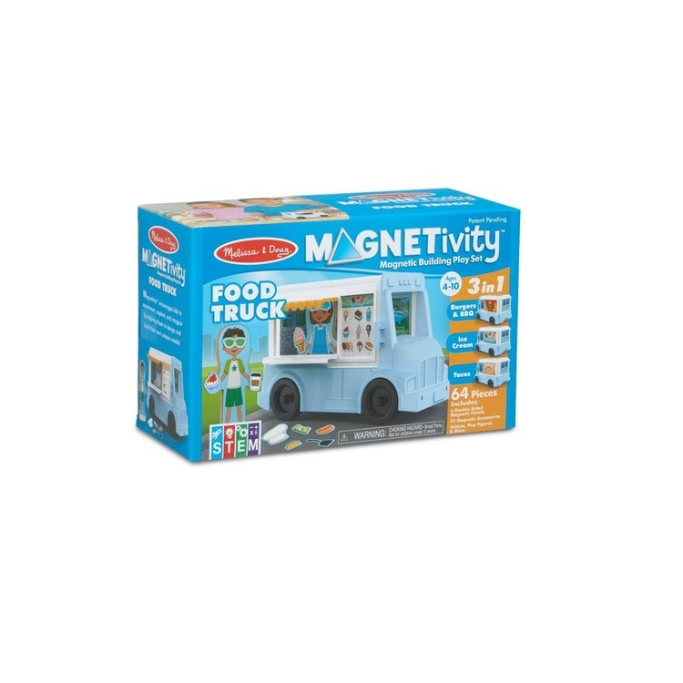 competitive Melissa & Doug Magnetivity - Food Truck reasonable cheap