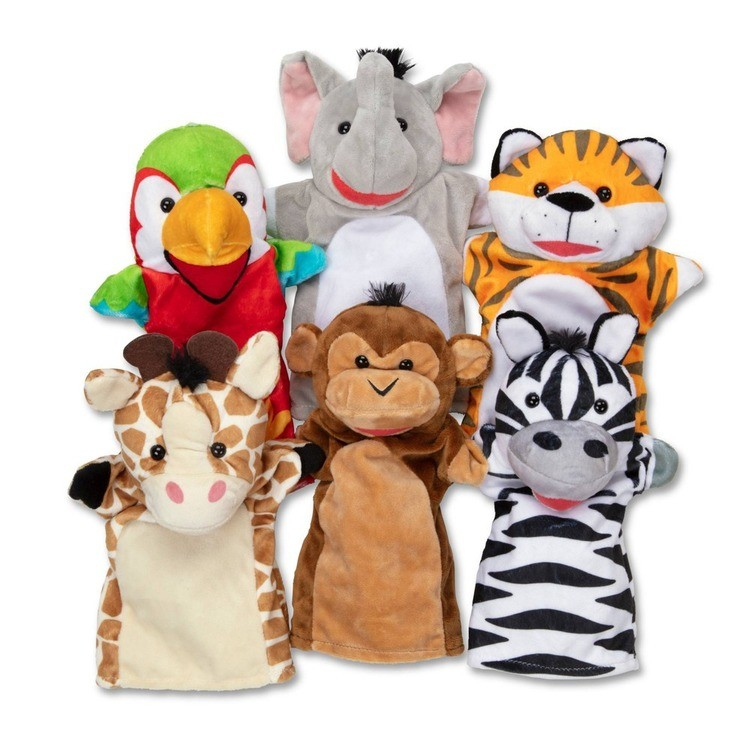 cheap Melissa & Doug Safari Buddies Hand Puppets reasonable competitive