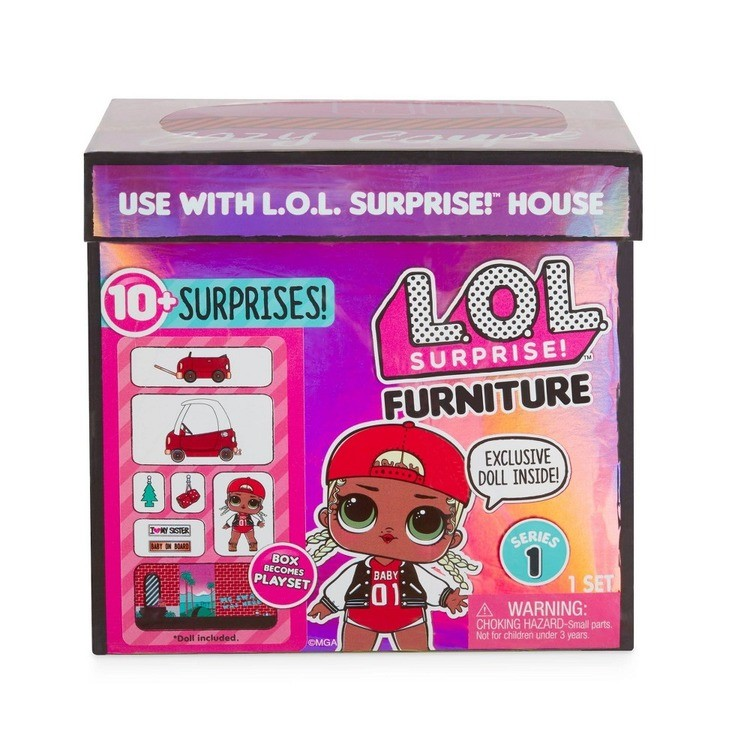 reasonable L.O.L. Surprise! Furniture with Cozy Coupe & M.C. Swag cheap competitive