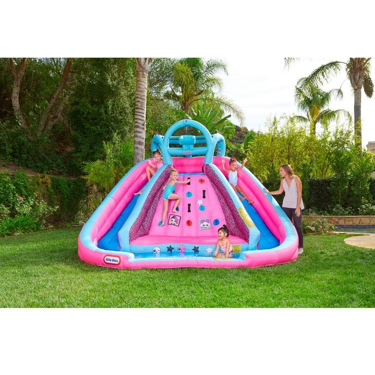 reasonable L.O.L. Surprise! Inflatable River Race Water Slide with Blower, Kids Unisex competitive cheap