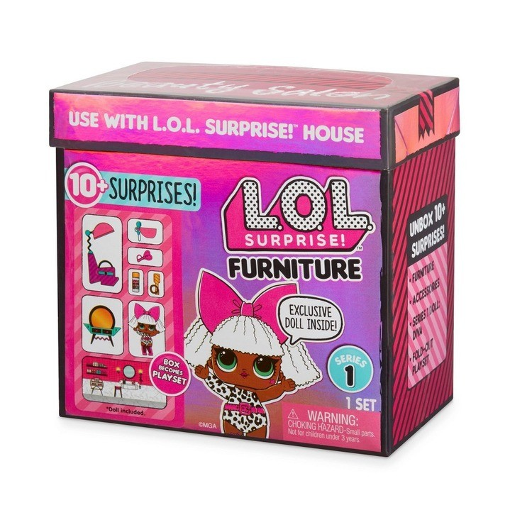cheap L.O.L. Surprise! Furniture with Salon & Diva competitive reasonable
