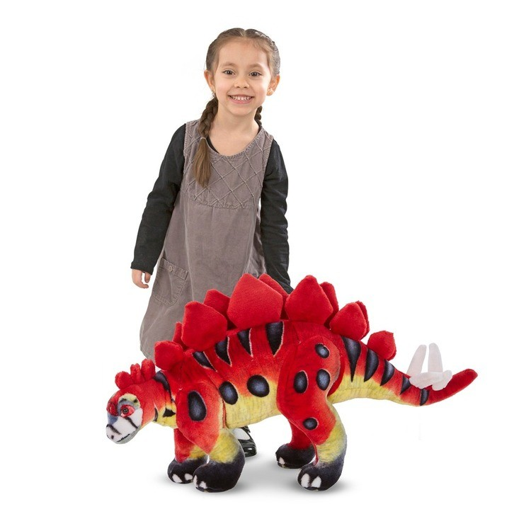 competitive Melissa & Doug Giant Stegosaurus Dinosaur - Lifelike Stuffed Animal cheap reasonable
