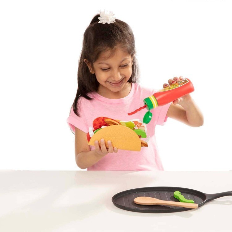 cheap Melissa & Doug Taco and Tortilla Set 44pc competitive reasonable